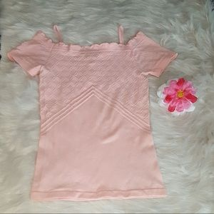 PINK ROSE TANK TOP SIZE SMALL